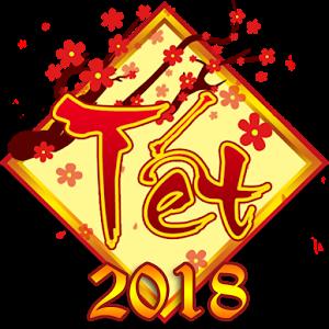 Lịch nghỉ tết nguyên đán 2018 - chúc quý khánh nghỉ tết vui vẻ
