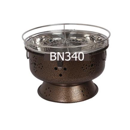 Bếp Nướng Than Hoa BN340 ( Tím- Xanh - Đỏ - Đen)