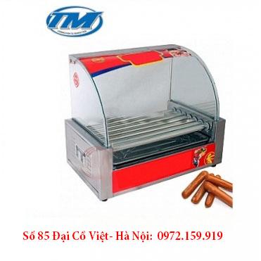 Máy nướng xúc xích 7 thanh kính cong BV07