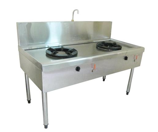 Bếp Á 2 Họng 1 Vòi Nước