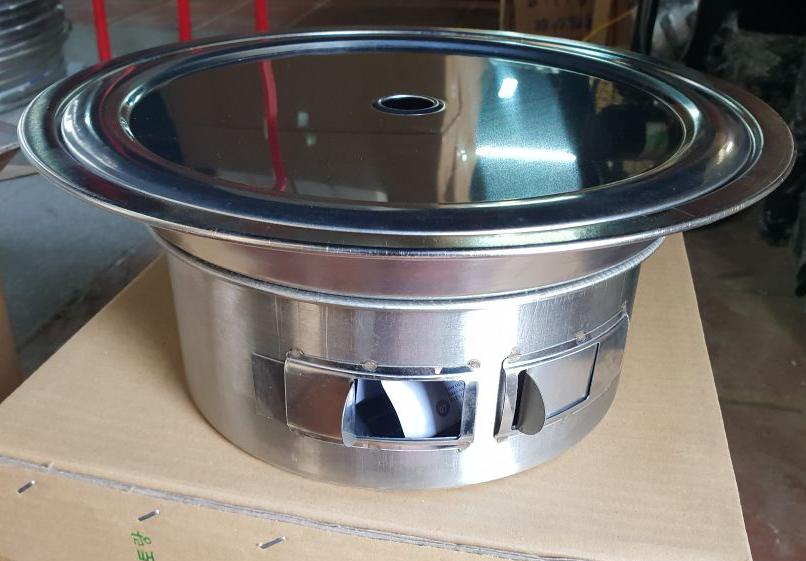 Bếp lẩu nướng đa năng bbq06 - có nắp