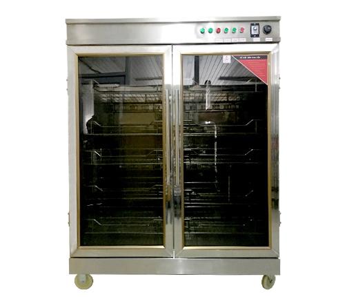 Tủ Sấy Bát 2 Buồng và 2 Cánh Kính -TSBVI1200